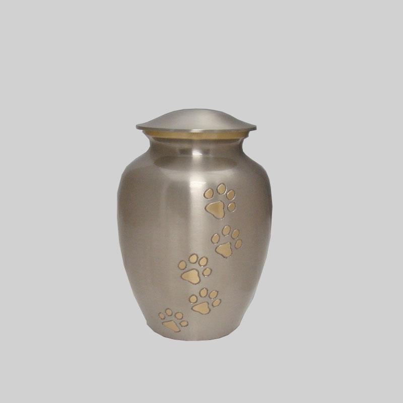Metalinė urna gyvunu kremavimui